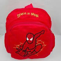 """Рюкзак детский мягкий с аппликацией """" Spider Men"""""""