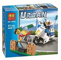 Конструктор Bela серия Urban 10416 Преследование Грабителя (аналог Lego City 60041)