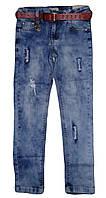 Джинсовые брюки  для девочек оптом, Seagull  134-164 рр. арт. CSQ-89781