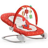 Детский шезлонг-качалка Chicco Hoopla Red Berry