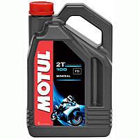 Масло для двигателя мотоцикла Motul 100 2T (4L)
