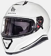 """Мотошлем MT THUNDER 3 SV pearl white """"XXL"""", арт. 10550004 (шт.)"""