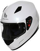 """Мотошлем MT MUGELLO pearl white """"XL"""", арт. 11030004 (шт.)"""