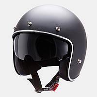"""Мотошлем MT LE MANS SV matt black """"S"""", арт. 10220003"""