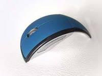 Складная беспроводная радио мышь мышка синяя