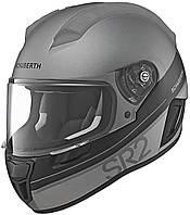 Мотошлем Schuberth SR2 Formula серый черный 58/59 (L)