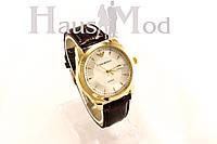 Мужские часы  Emporio Armani черные  в бронзе (копия)