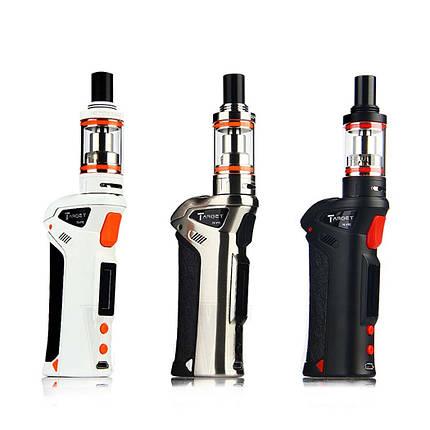 Электронная сигарета Target 75 W Starter Kit, черный, мод 75W, с 2-мя керамическими испарителями cCELL 0,2 Ом., фото 2