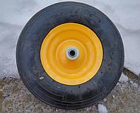Колесо пневматическое BudMonster 3,5*6 велик (01-001) o/d= 16