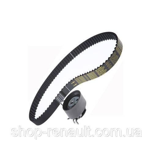Комплект ремня ГРМ (ремень+ролик) 1.2 16V Logan/Kangoo/Clio Renault Original