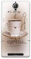 Чехол для Lenovo P90 (Чашка кофе)