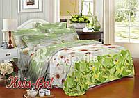 Комплект постельного белья 3D семейный, полиэстер. Постільна білизна. (арт.6728)