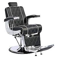 Барбершоп кресло Valencia lux (черное)
