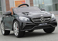 Детская машина на аккумуляторе M 2797 EBLRS-2 Mercedes (автопокраска, EVA колёса, кожа)***