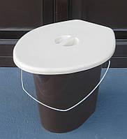 Ведро-туалет с крышкой