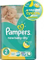 Подгузники Pampers New Baby Mini 2 (3-6 кг) Количество 68 шт