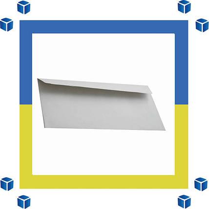 Конверты Е65 (DL) (110х220) скл, серый (0+0), фото 2