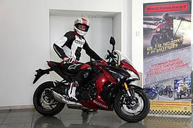 Комплект мотоэкипировки для спортбайка Alpinestars и шлем Shoei Gt-Air