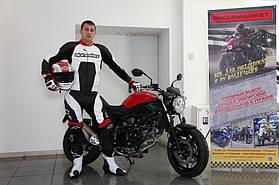 Комплект мотоэкипировки для спортбайка Alpinestars и шлем Shoei Gt-Air 3