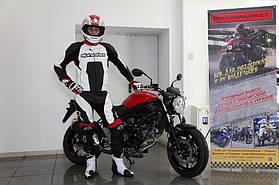 Комплект мотоэкипировки для спортбайка Alpinestars и шлем Shoei Gt-Air 1