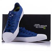 Кеды Converse Chuck Taylor All Star II low синие, фото 1