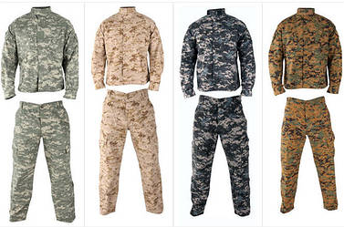 Види військової форми