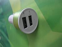 2 USB адаптер переходник в прикуриватель авто