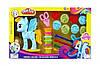 Набор творчества Пони пластилин аналог Play Doh My Little Pony