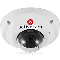 Миниатюрная купольная антивандальная IP-камера ActiveCAM AC-D4031, 3 Мп