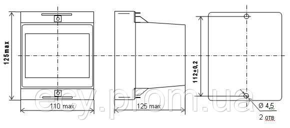 Е848-М1 Преобразователь измерительный активной мощности трехфазного тока, фото 2