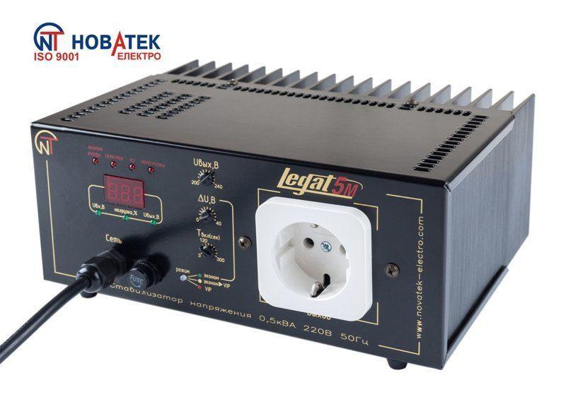 Бестрансформаторный стабилизатор Legat-5М, 500 ВА