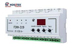 Електронний перемикач фаз ПЕФ-319, Новатек електро