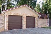 Ворота гаражные Alutech Classic пружины растяжения 2600*2300