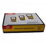 Цифровой дифференциальный манометр Benetech GM511 (0.01/10 кПа) USB интерфейс, МАХ давление 50 кПа, АТС, фото 8