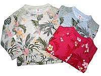 Модные весенние пайты для девочек с кружевными вставками от Glo-story. В остатке 116р. - серый.