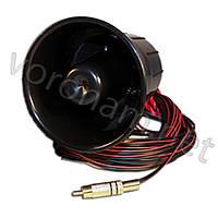 Електронная сирена ES 230, 12V, динамик наружный