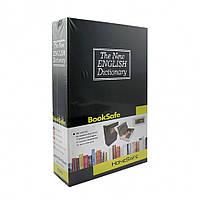 Книга - сейф Словарь 18см черная