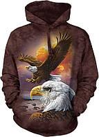 Толстовка THE MOUNTAIN-EAGLE & CLOUDS (унисекс)