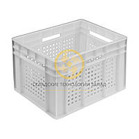 Пластиковые ящики для молочной продукции 433x347x283, фото 1