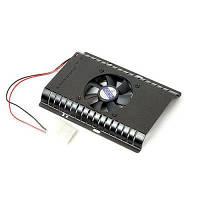Вентилятор для вінчестера MAX CF-601BB, 4000 об/хв, 34 дБ, 1x60 мм Fan, aluminum