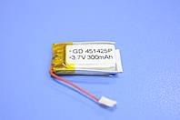 Аккумулятор Li-Ion 451425P 300 mAh 3.7V