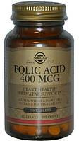 Солгар, фолиевая кислота 400мкг 250таблеток