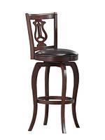 """Коричневый барный деревянный стул для кафе и баров """"Моцарт"""""""