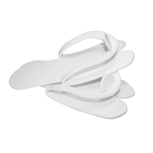 Тапочки педикюрные (белые) 1 пара