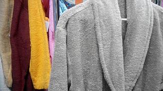 Халат махровый Ordella XL хлопок 100% Бежевый, фото 3