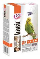 Полнорационный корм для волнистых попугаев ЛолоПетс 500 г