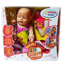 Пупс Warm Baby 8 функций с аксессуарами