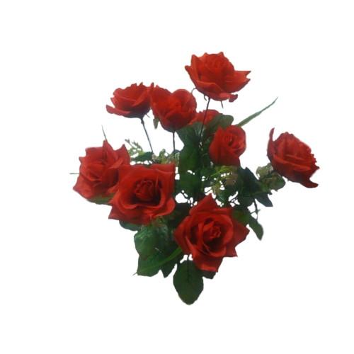 """Букет искусственных цветов """"Роза"""" (10 шт)"""