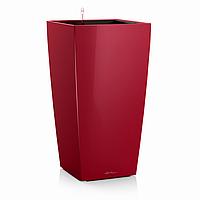 Умный вазон Cubico 30  Красный глянц