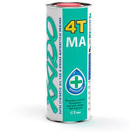 Моторное масло XADO Atomic Oil 10W-40 4T MA SuperSynthetic (ж/б  1 л)